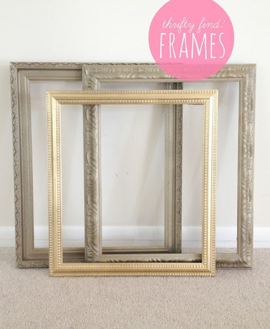 29.-Find-old-frames-at-thrift-stores-for-super-cheap-and-then-revitalize-them-with-spray-paint-29-Cool-Spray-Paint-Ideas-That-Will-Save-You-A-Ton-Of-Money-