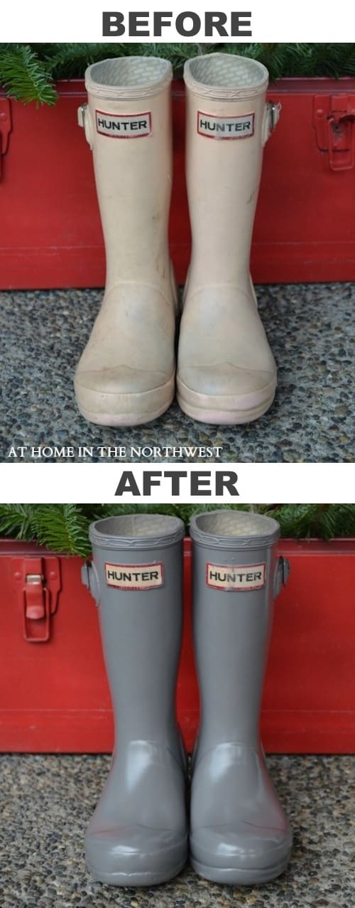 3.-Restore-old-rubber-boots-with-spray-paint-29-Cool-Spray-Paint-Ideas-That-Will-Save-You-A-Ton-Of-Money