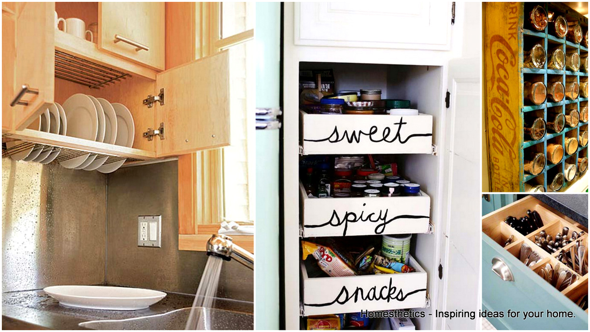 34 Super Epic Small Kitchen Hacks For