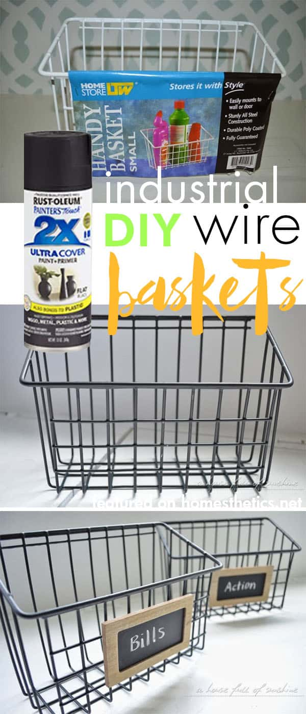5.-DIY-industrial-wire-baskets-using-spray-paint-29-Cool-Spray-Paint-Ideas-That-Will-Save-You-A-Ton-Of-Money