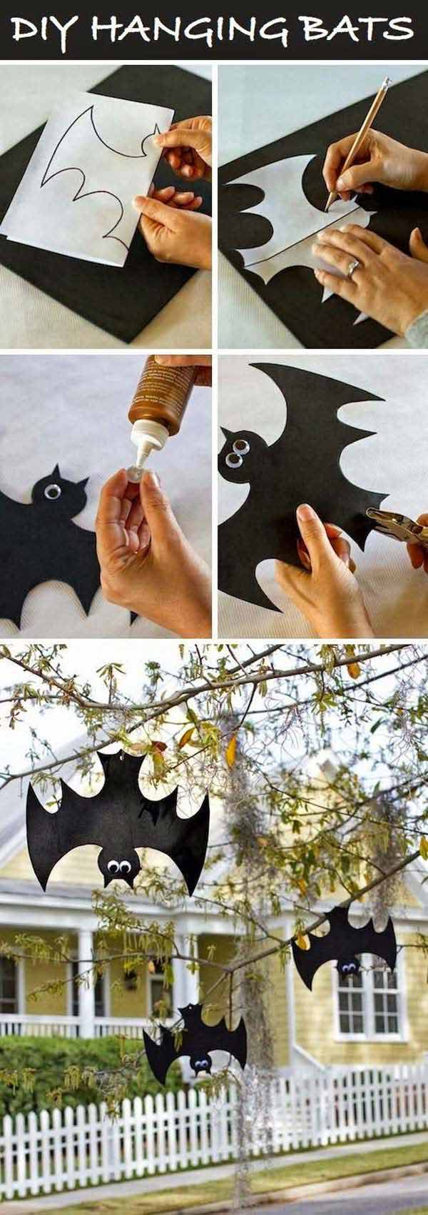 99 Enchanting and Spooky Ways to Decorate Trees for Halloween (4)