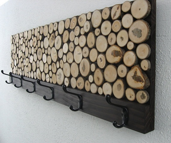 Add Wood Slices Decorations For A Cozier Home Homesthetics.net (10)
