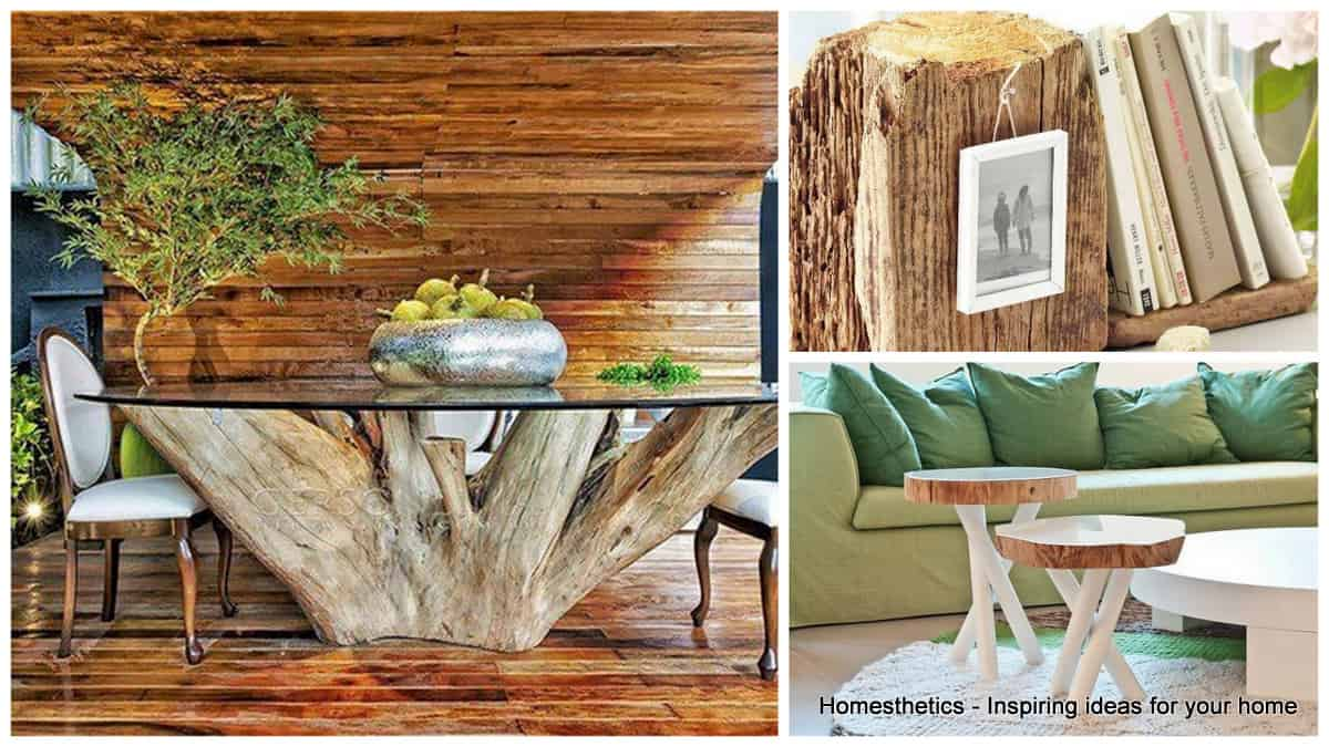 Add An Unique Tree Furniture Piece To Your Home - Homesthetics ...