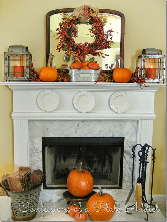 How To Add Fall Decor To Your Mantel-homesthetics.net (1)