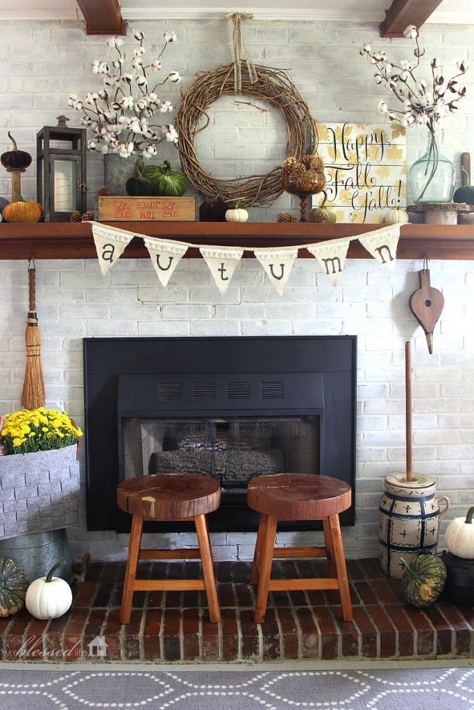 How To Add Fall Decor To Your Mantel-homesthetics.net (10)