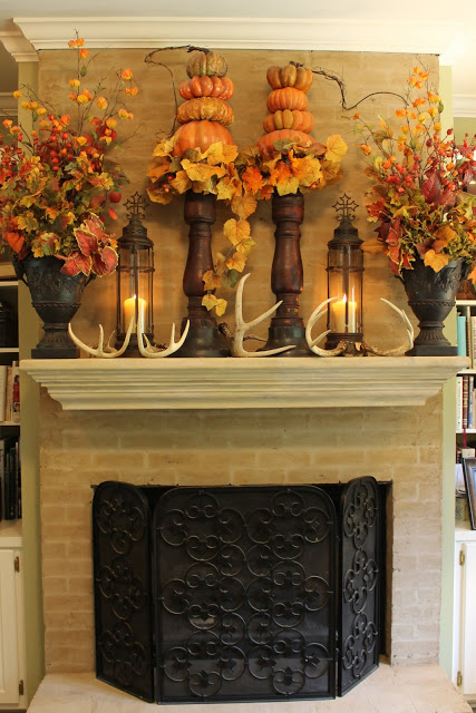 How To Add Fall Decor To Your Mantel-homesthetics.net (11)