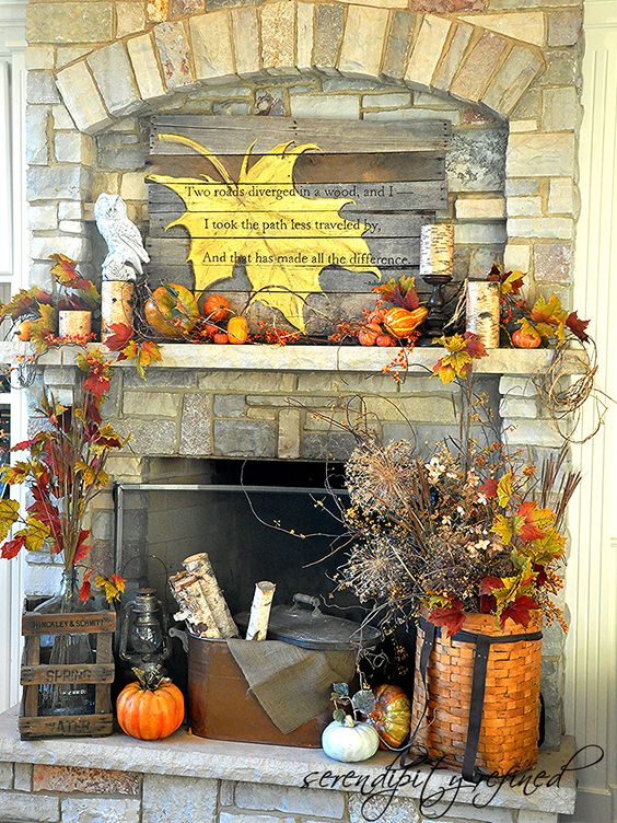 How To Add Fall Decor To Your Mantel-homesthetics.net (14)