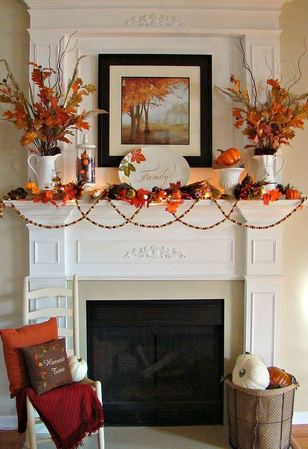 How To Add Fall Decor To Your Mantel-homesthetics.net (16)