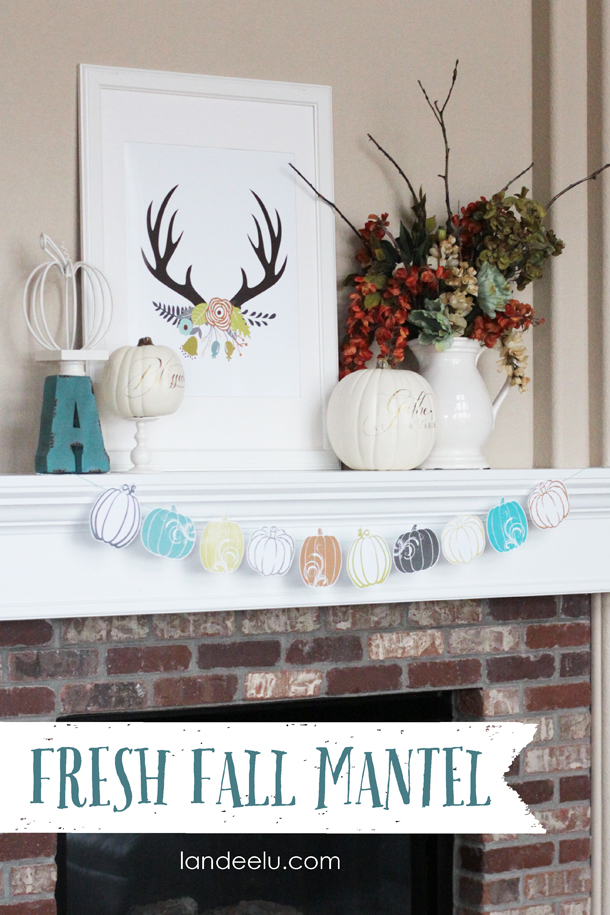 How To Add Fall Decor To Your Mantel-homesthetics.net (2)