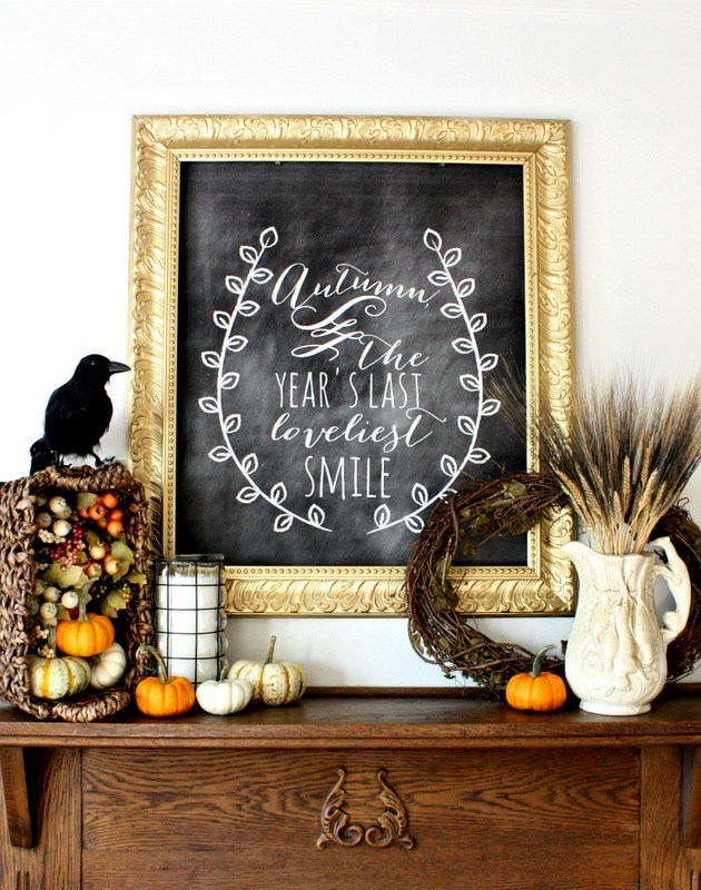 How To Add Fall Decor To Your Mantel-homesthetics.net (5)