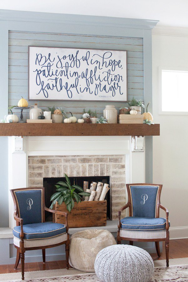 How To Add Fall Decor To Your Mantel-homesthetics.net (8)