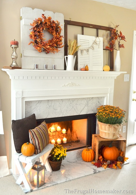 How To Add Fall Decor To Your Mantel-homesthetics.net (9)