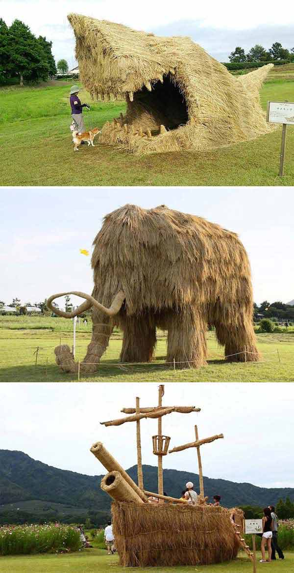 Insanely Ingenious Bales of Hay Projects For a Magical Autumn (11)
