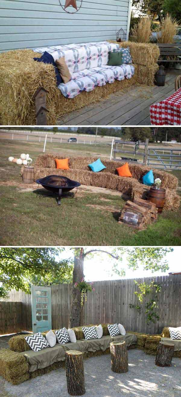 Insanely Ingenious Bales of Hay Projects For a Magical Autumn (5)