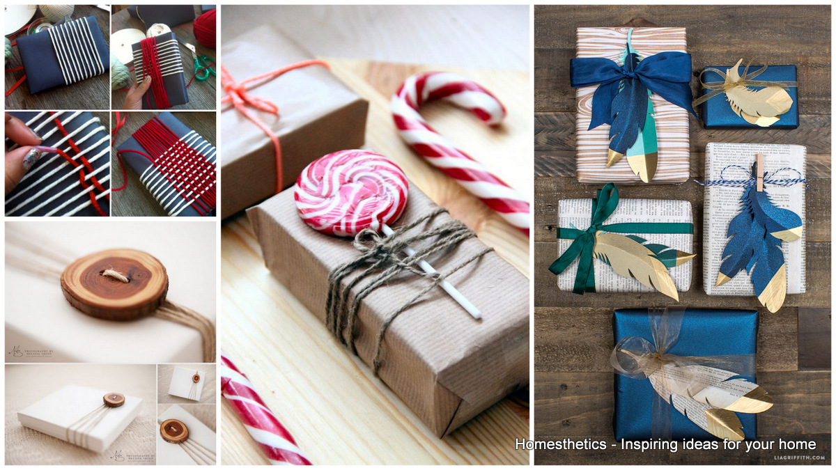Learn How To Wrap A Gift Properly Homesthetics