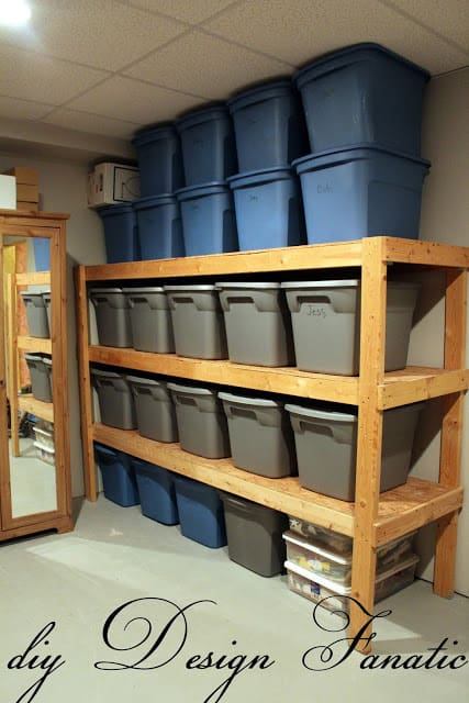 simple-and-inexpensive-2x4-shelving-to-hold-all-of-your-storage-containers