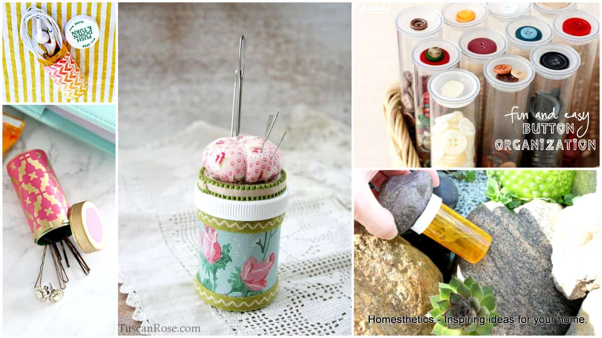 24 Super Ingenious Pill Bottle Crafts That Will Help You ...