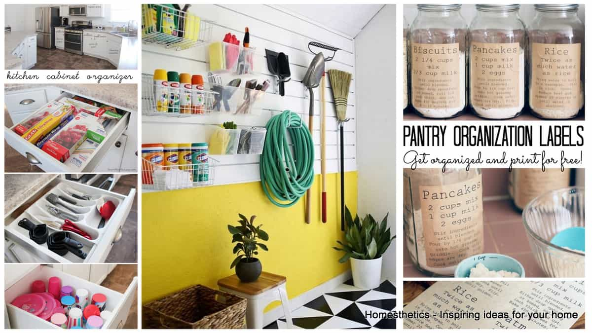 Top 15 Home Organizational Projects For A Tidier House 001