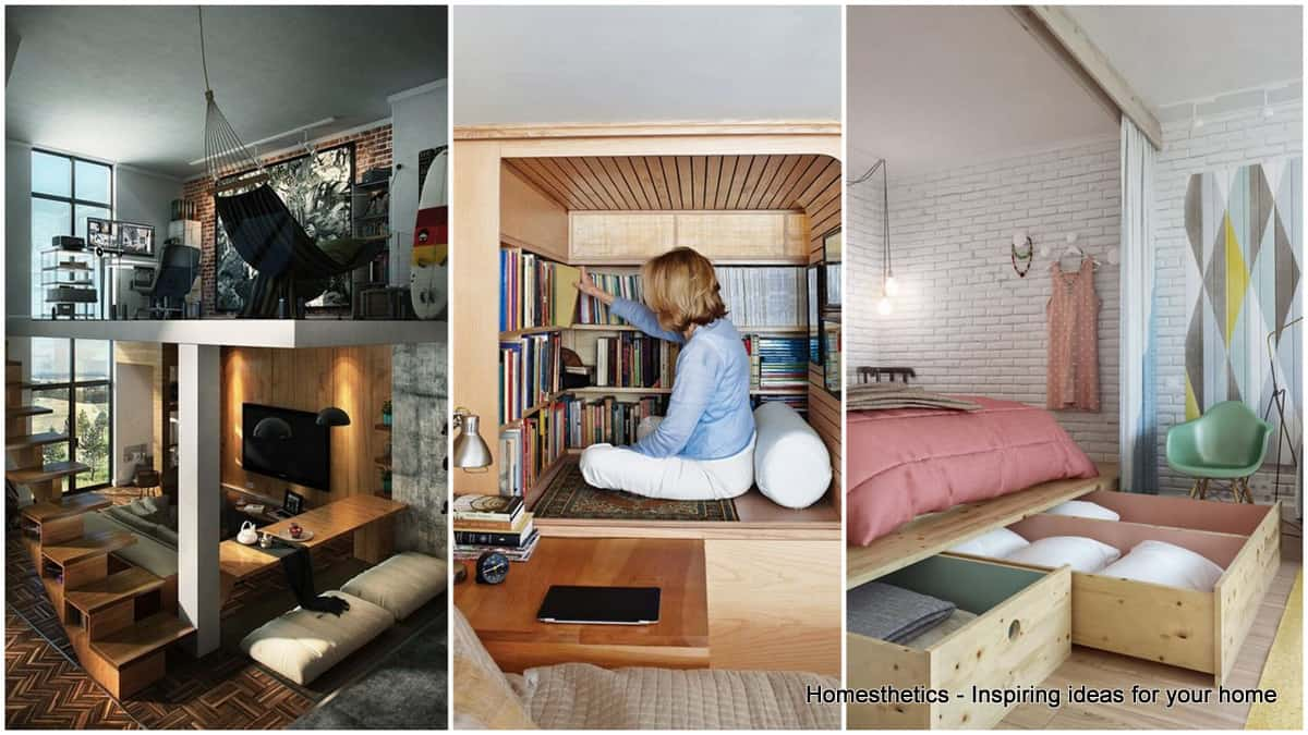 37 Small Apartment Ideas And How To Deal With Space | Homesthetics ...
