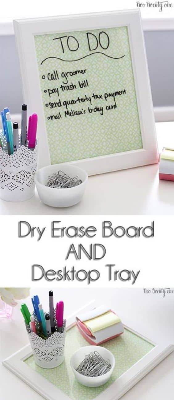 23. CREATE A SUPER GRAPHIC TO DO LIST - TRAY