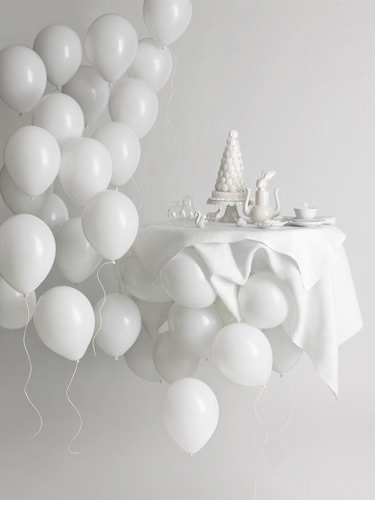 Beautiful Decor For An All White Party Homesthetics