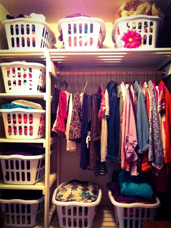 Clothes Storage Solved by 17 Ingenious Low-Cost DIY Closets Swiftly (1)