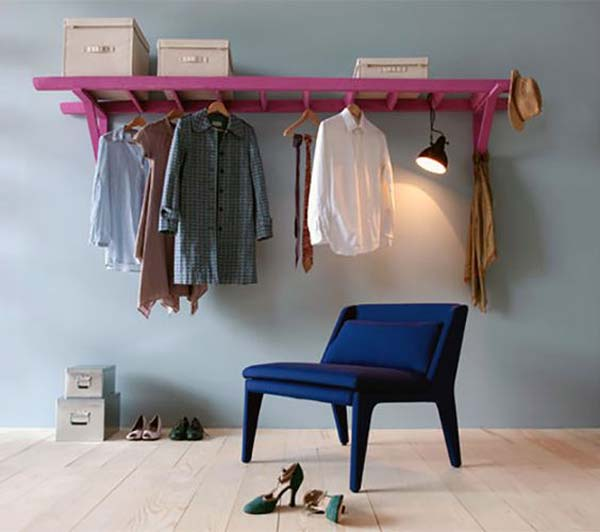 Clothes Storage Solved by 17 Ingenious Low-Cost DIY Closets Swiftly (12)