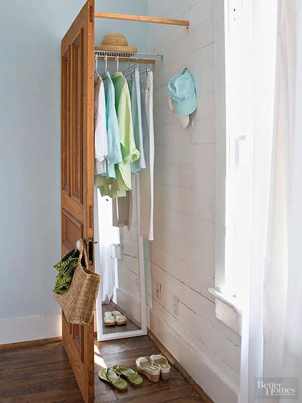 Clothes Storage Solved by 17 Ingenious Low-Cost DIY Closets Swiftly (4)