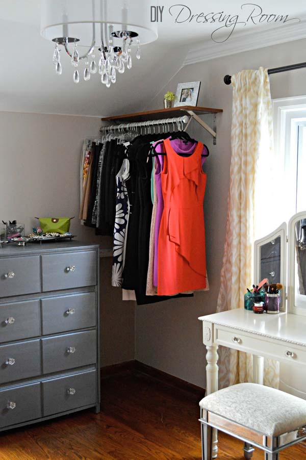 Clothes Storage Solved by 17 Ingenious Low-Cost DIY Closets Swiftly (5)