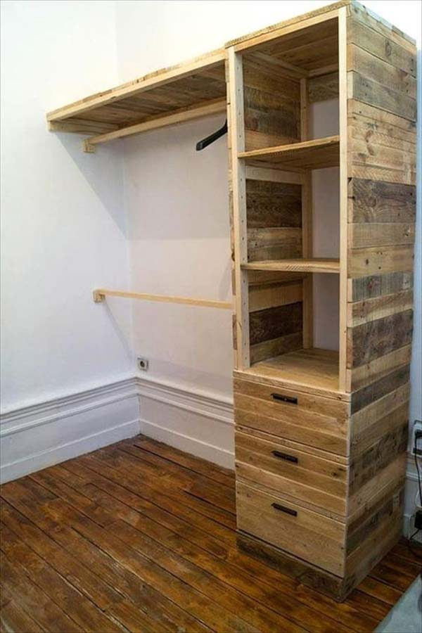 Clothes Storage Solved by 17 Ingenious Low-Cost DIY Closets Swiftly (8)