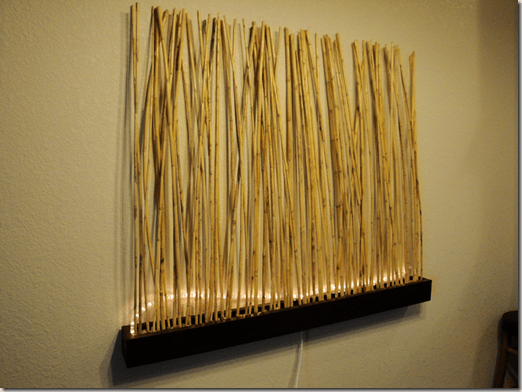 Infuse An Asian Vibe With Diy Bamboo Wall Decor