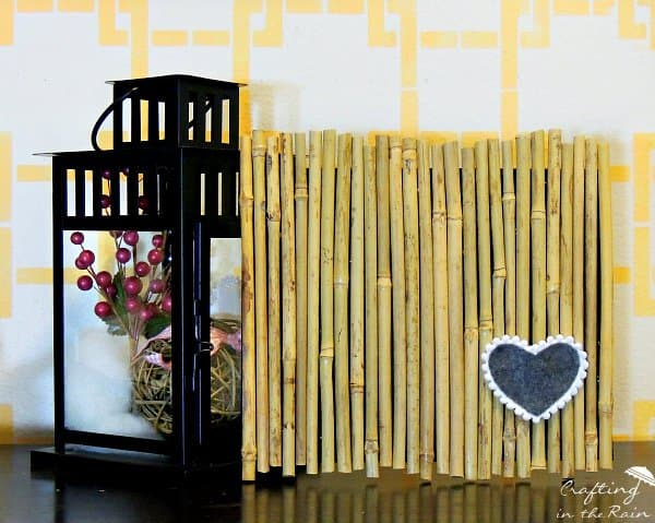 Infuse An Asian Vibe With DIY Bamboo Wall Decor - Homesthetics ...