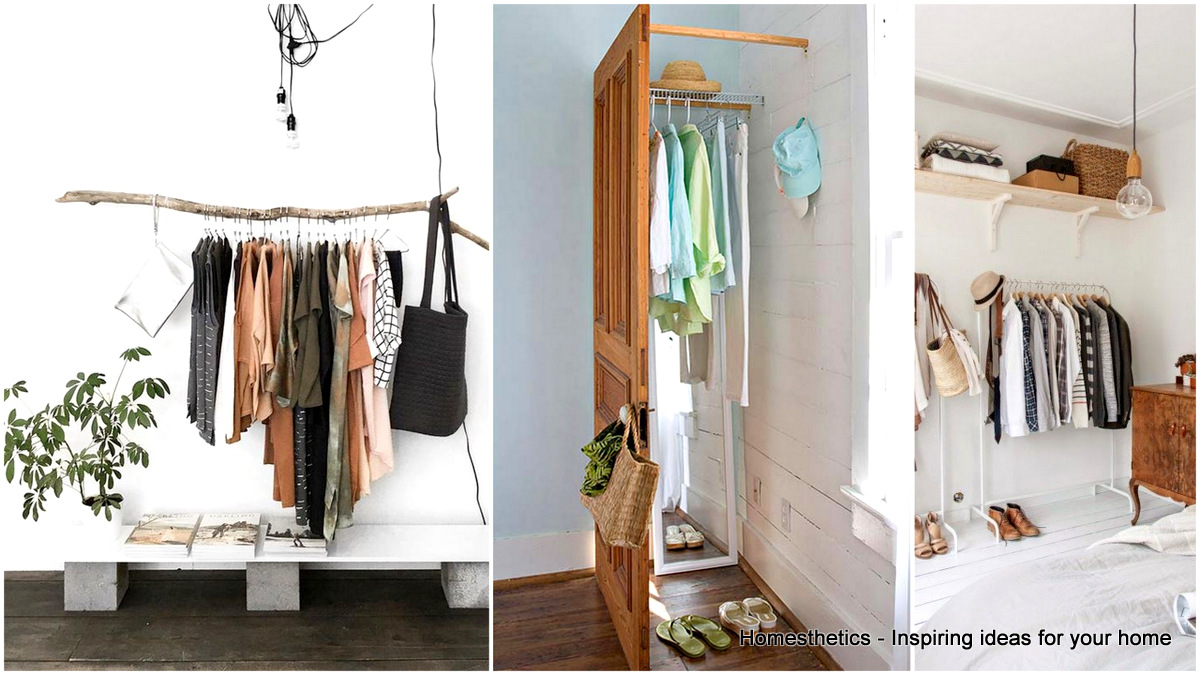 Clothes Storage Solved by 19 Ingenious Low-Cost DIY ...