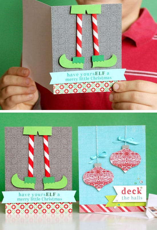 Make Your Own Creative Christmas Cards This Winter-homestheitcs.net (20)