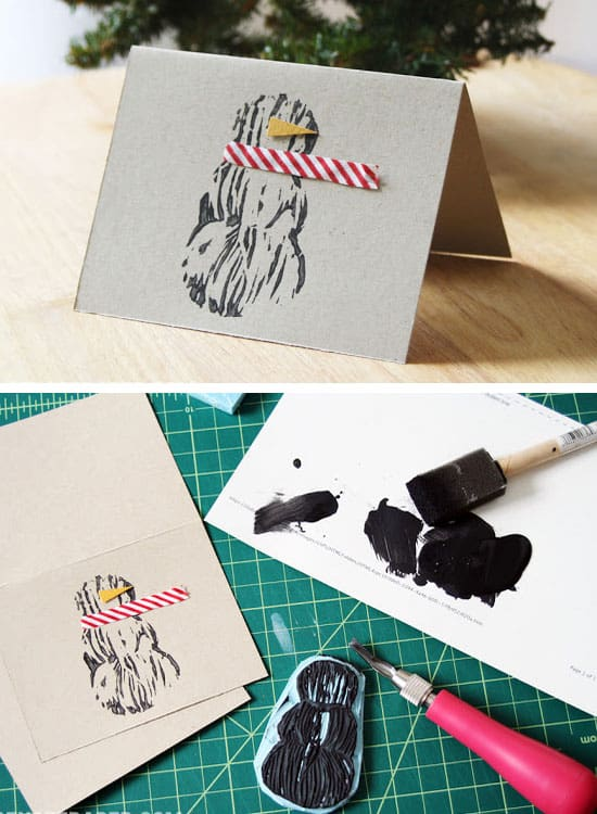 Make Your Own Creative Christmas Cards This Winter-homestheitcs.net (4)