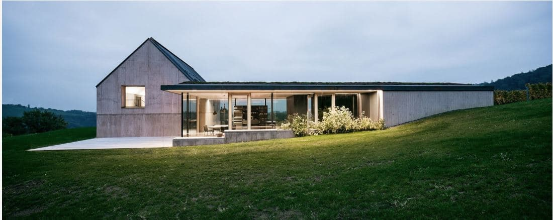 Modern Vineyard Home Materialized In The Heart of a Former Wine Press House 0