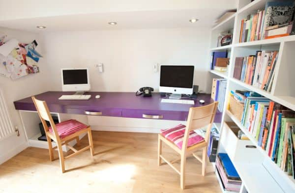 Modern-home-office-with-a-distinct-feminine-touch