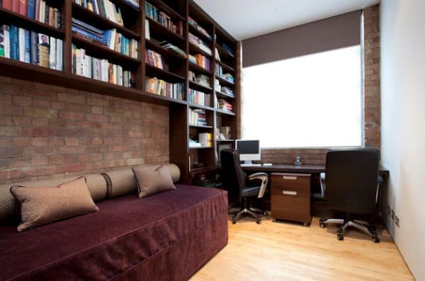 Small-home-office-design-for-a-couple