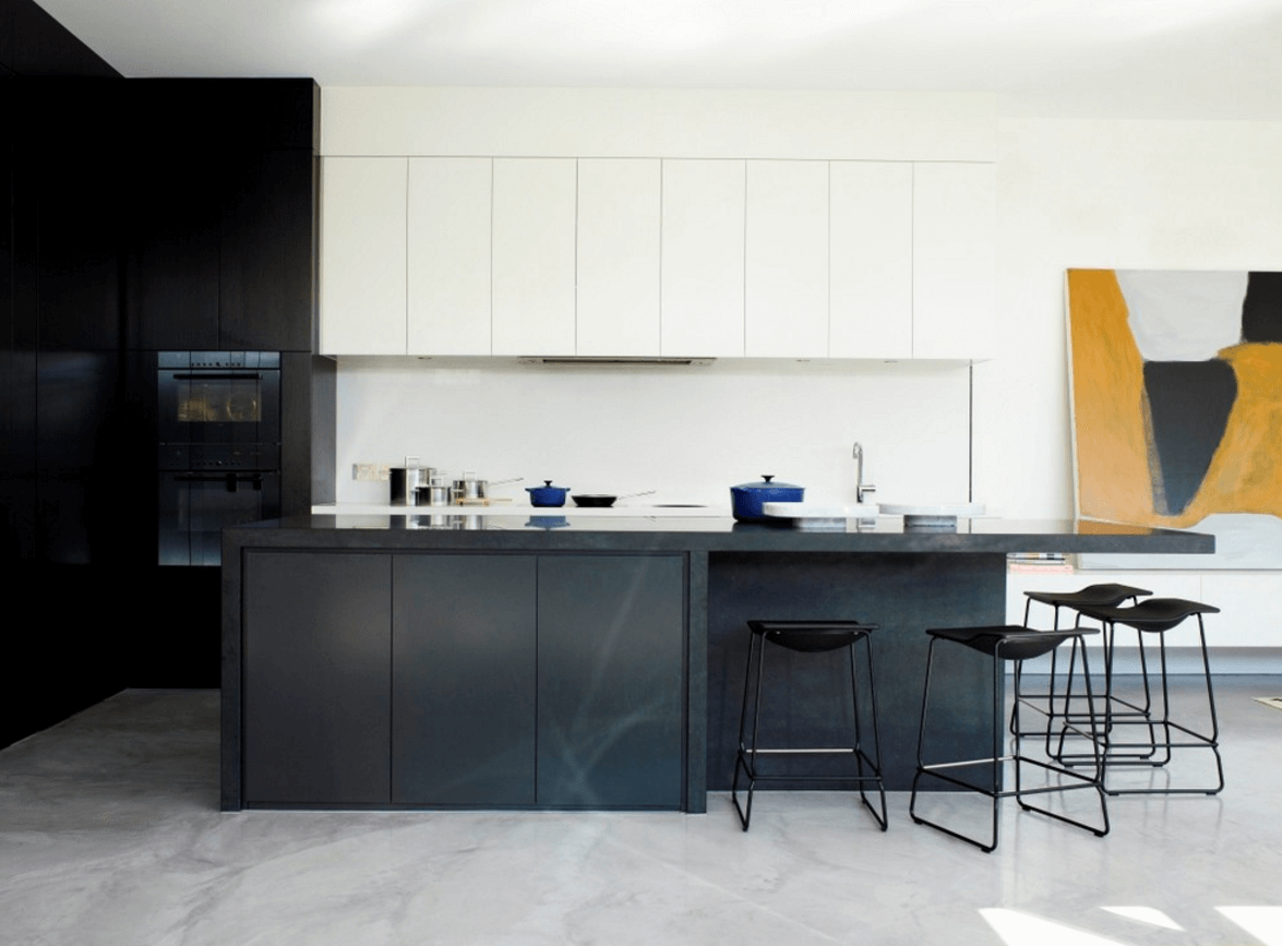 Step out of the box with 31 bold black kitchen designs for Kitchens by design
