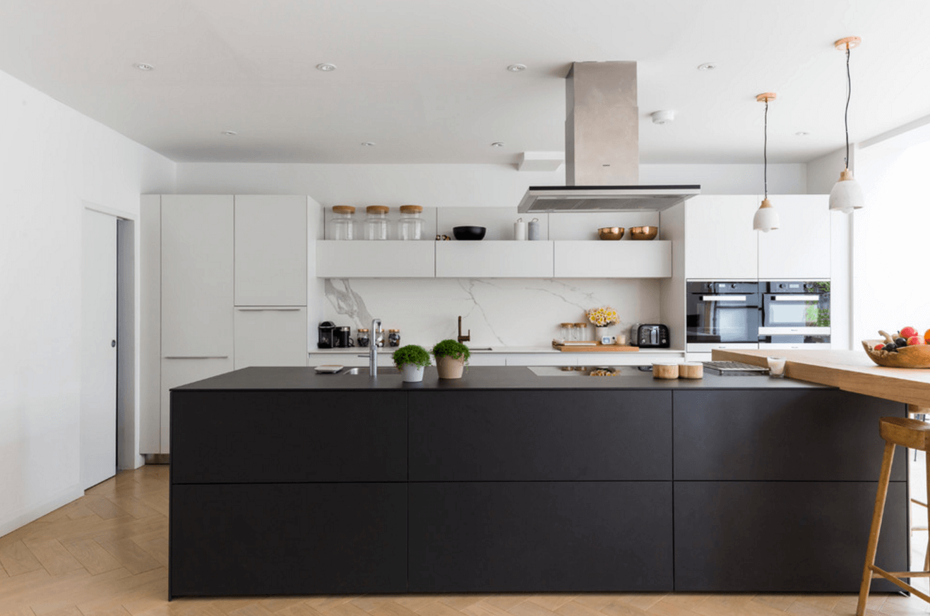 Step out of the box with 31 bold black kitchen designs for Black kitchen design