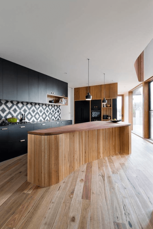 Step out of the box with 31 bold black kitchen designs for Awesome warehouse kitchen design