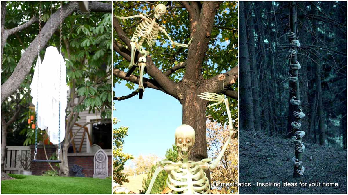 Ways to Decorate Trees for Halloween