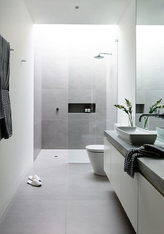 grey bathroom ideas. Wonderful Elegant Grey Bathroom Ideas homesthetics net  1 Homesthetics Inspiring