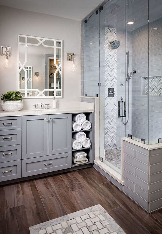 Wonderful Elegant Grey Bathroom Ideas | Homesthetics ...
