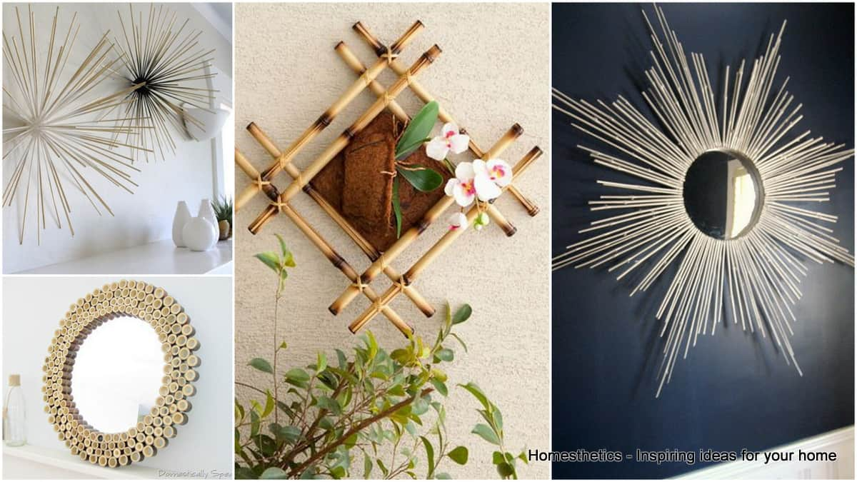 Elegant Infuse An Asian Vibe With DIY Bamboo Wall Decor