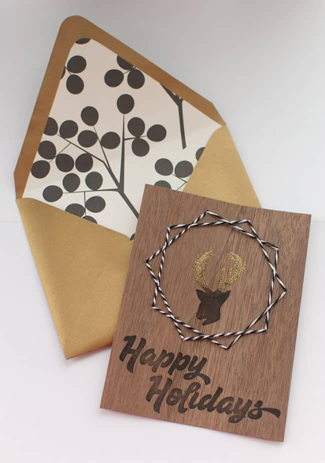 ake Your Own Creative DIY Christmas Cards This Winter