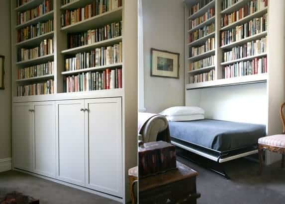 13. Add an additional one person bed in the study
