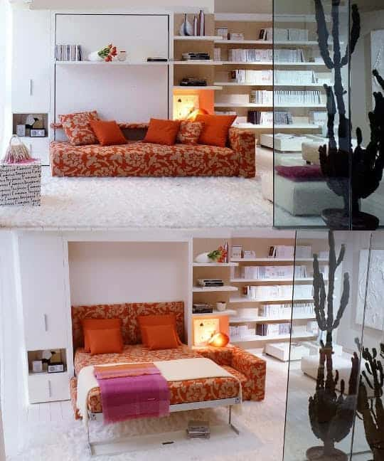11. Bed over the sofa? why not!