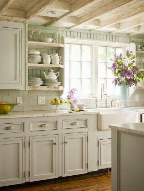 Majestic French Country Kitchen Designs - Homesthetics - Inspiring