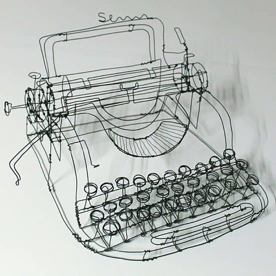 41. SHAPE A WRITING MACHINE